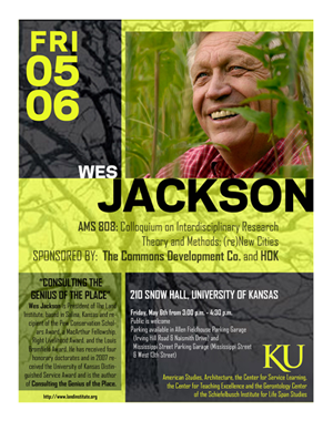 Wes Jackson Poster